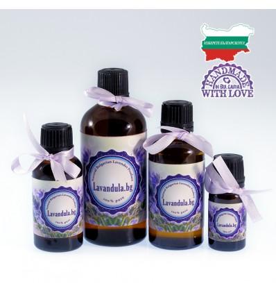 Лавандулово масло, 100% натурално, 10/30/50/100/250/500 мл