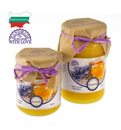 Натурален лавандулов мед - 240/450 г